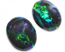 1CTS  BLACK OPAL STONE LIGHTNING RIDGE [CS89]