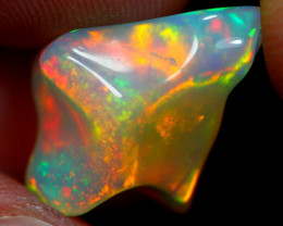 6.00cts  Ethiopian Welo Freefrom Opal / JU580
