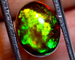 2  CTS ETHIOPIAN  SMOKED  OPAL CAB STONE FOB-1929