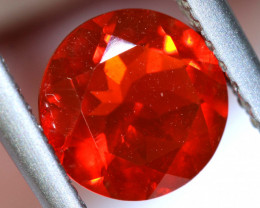 0.75 - CTS MEXICAN FIRE OPAL  FACETED STONE   FOB- 1944