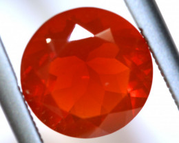 1.82 - CTS MEXICAN FIRE OPAL  FACETED STONE   FOB-1952