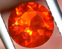 0.870 - CTS MEXICAN FIRE OPAL  FACETED STONE   FOB-1956