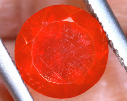 0.95 - CTS MEXICAN FIRE OPAL  FACETED STONE   FOB-1959