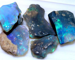 40.70-CTS  BLACK OPAL  ROUGH  PARCEL  L. RIDGE DT-8763