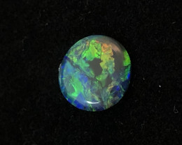 "LIGHTNING RIDGE ""PLANET EARTH"" BLACK OPAL DOUBLET"