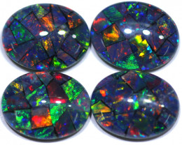 5.10 CTS  9x7  STUNNING TRIPLET MOSAIC OPAL PARCEL [REL84]