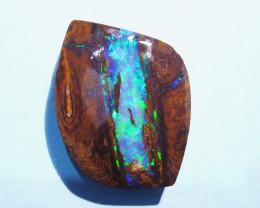 Stunning Australian Queensland Boulder Opal Solid Cut Stone (1162)
