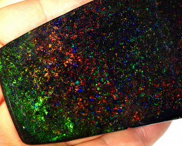 Large 490ct 85x55mm Treated Solid Clear Coated Fairy Opal [FOC-0001]