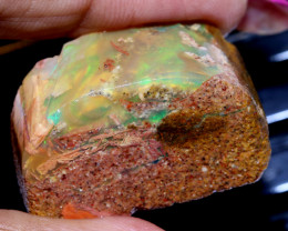 88 -CTS BOULDER OPAL PIPE  ROUGH DT-8840