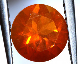 0.79- CTS MEXICAN FIRE OPAL  FACETED STONE   FOB-1964