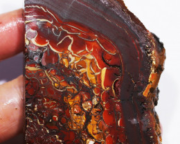 499.45 CTS CHOCOLATE IRONSTONE WITH WHITE OPAL[BY8066]