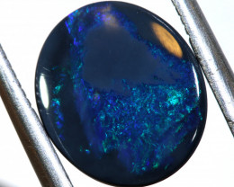 N1-1.2    -CTS  L.RIDGE BLACK OPAL  POLISHED STONE TBO-9884