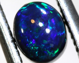N1-0.835    -CTS  L.RIDGE BLACK OPAL  POLISHED STONE TBO-9898