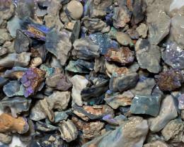ROUGH OPALS; 570 CTs of Lightning Ridge Rough Opal #1382
