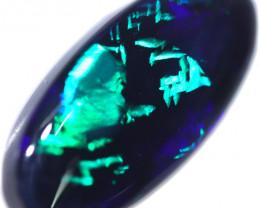 9.493 CTS Stunning Black Opal -LIGHTNING RIDGE- [LRO706]