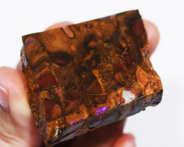 191.45 CTS BOULDER MATRIX NUTS SLAB -KOROIT [BY8136]