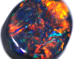 0.88 CTS BLACK OPAL STONE-FROM  OLD COLLECTION- [LROG747]