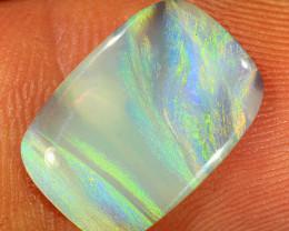 2.6ct 15x10mm Solid Lightning Ridge Dark Opal [LO-1748]