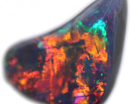 1.92 CTS BLACK OPAL STONE-FROM  OLD COLLECTION- [LROG755]
