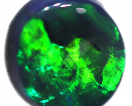 0.37 CTS BLACK OPAL STONE-FROM  OLD COLLECTION- [LROG763]
