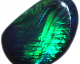 0.54 CTS BLACK OPAL STONE-FROM  OLD COLLECTION- [LROG764]