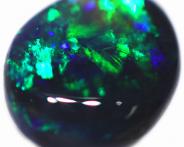 0.47 CTS BLACK OPAL STONE-FROM  OLD COLLECTION- [LROG768]