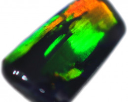 0.32 CTS BLACK OPAL STONE-FROM  OLD COLLECTION- [LROG770]