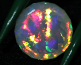 6.80 ct Gem faceted Welo opal.  American guild award faceted.