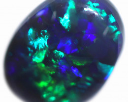 0.68 CTS BLACK OPAL STONE-FROM  OLD COLLECTION- [LROG773]