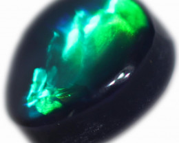 0.64 CTS BLACK OPAL STONE-FROM  OLD COLLECTION- [LROG774]