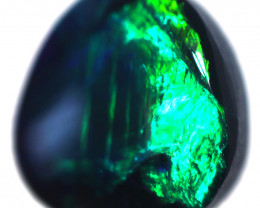 1.12 CTS BLACK OPAL STONE-FROM  OLD COLLECTION- [LROG776]