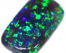 0.71 CTS BLACK OPAL STONE-FROM  OLD COLLECTION- [LROG781]