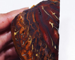 772.35 CTS  CHOCOLATE IRONSTONE / WHITE OPAL ROUGH [BY8232]