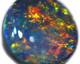 0.76 CTS BLACK OPAL STONE-FROM  OLD COLLECTION- [LROG783]