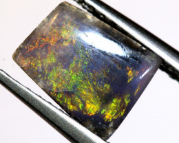 N 3-1.09   -CTS  L.RIDGE BLACK OPAL  POLISHED STONE TBO-9977
