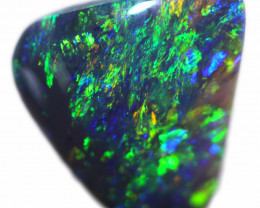 0.83 CTS BLACK OPAL STONE-FROM  OLD COLLECTION- [LROG797]