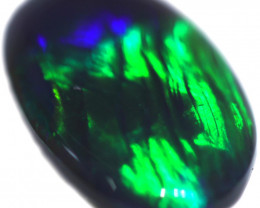 1.37 CTS BLACK OPAL STONE-FROM  OLD COLLECTION- [LROG799]
