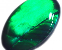 0.44 CTS BLACK OPAL STONE-FROM  OLD COLLECTION- [LROG808]