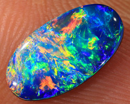 1ct Quality Lightning Ridge Opal Doublet [PDO-238]