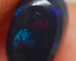 1.15CT BLACK OPAL  LIGHTNING RIDGE AA311
