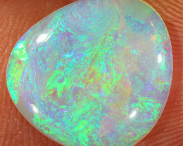 3ct 14x12.5mm Solid Lightning Ridge Crystal Opal [LO-1752]