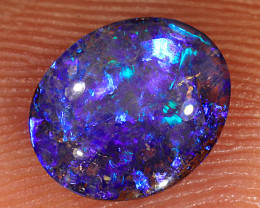 0.65ct 7.5x6.5mm Yowah Boulder Opal [LOB-2941]