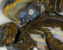 KOROIT MATRIX ROUGH; 650 CTs Boulder Opals#1438