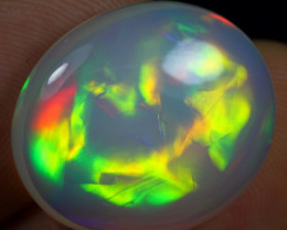 14.80cts Amazing Aurora Pattern Natural Ethiopian Welo Opal