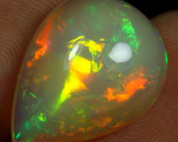 11.30cts 5/5 Broad Chaff Neon Fire Natural Eth. Welo Opal