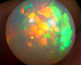13.30cts Unique Neon Fire Cotton Pattern Natural Ethiopian Welo Opal