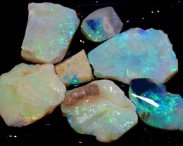 50 CTS  -COOBER PEDY WHITE OPAL ROUGH PARCEL DT-6293