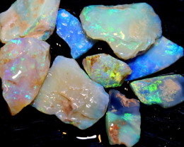 50 CTS  -COOBER PEDY WHITE OPAL ROUGH PARCEL DT-6294
