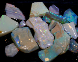 50 CTS -COOBER PEDY WHITE  OPAL ROUGH PARCEL DT-6296