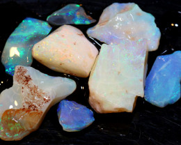 50 CTS- COOBER PEDY WHITE OPAL ROUGH PARCEL DT-6297
